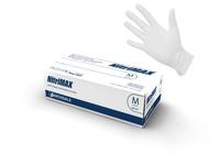Перчатки NitriMax нитриловые неопудренные, белые, 50пар/упаковка